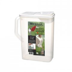 Plastic Storage Container with Pouring Spout