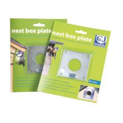 CJ Wildlife Nest Box Plate - 32mm/28mm