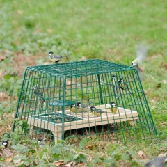 CJ Wildlife Ground Feeder Guards - Small or Large Mesh