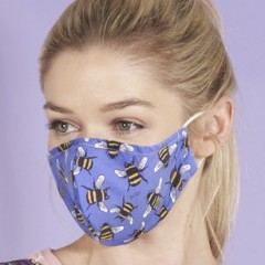 Eco Chic Face Mask - Bees
