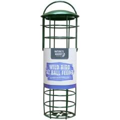 Green Standard Suet Fat Ball Bird Feeder