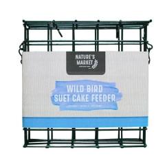 Nature's Market Green Suet Cake Bird Feeder