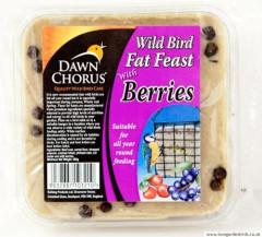 Dawn Chorus Suet Block with Berry - 12 & 24