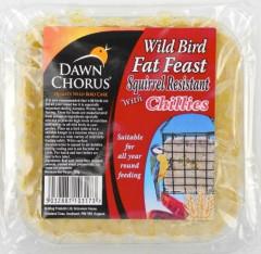 Dawn Chorus Squirrel Resistant Suet Block - 12 & 24