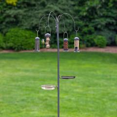 Essentials Four Arm Complete Feeding Station With Bird Bath & Seed Tray