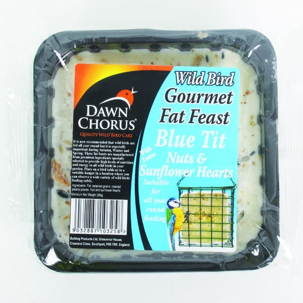 Gourmet Suet Treat Block Blue Tit
