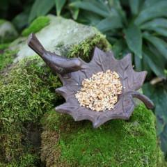 Fallen Fruits Cast Iron Bird Bath - Small