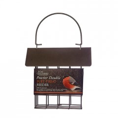 Tom Chambers Pewter Double Suet Treat Feeder