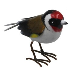Large Metal Goldfinch