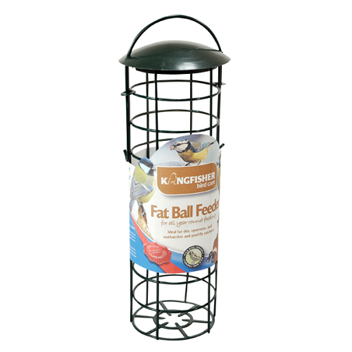 Green Standard Suet Fat Ball Bird Feeder