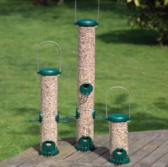 Jacobi Jayne Bird Lovers Green Seed Feeder