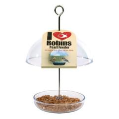 I Love Robins Pearl Feeder