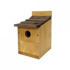 Johnston & Jeff Multinester Nest Box with Shingle Roof