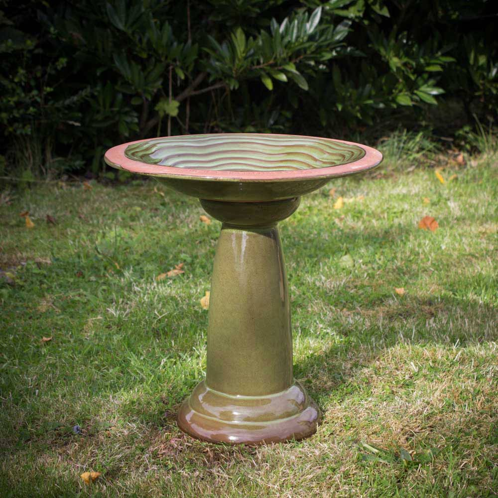 wildlife world echoes bird bath amp stand wild bird
