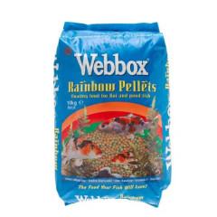 Webbox Rainbow Mixed Pond Pellets 10kg