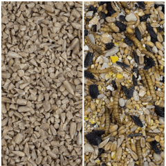 Feed Bundle - Sunflower Heart Chips & Fledgling Mix