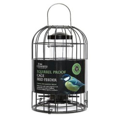 Tom Chambers Squirrel Proof Cage Seed Feeder