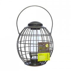 Tom Chambers Pewter Flick 'n' Click Squirrel Resistant Seed Feeder
