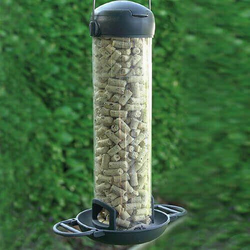 Henry Bell Wild Bird Essentials Plus Suet Pellet and Mealworm Feeder