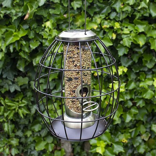 Henry Bell Heritage Gold Squirrel Proof Seed Feeder